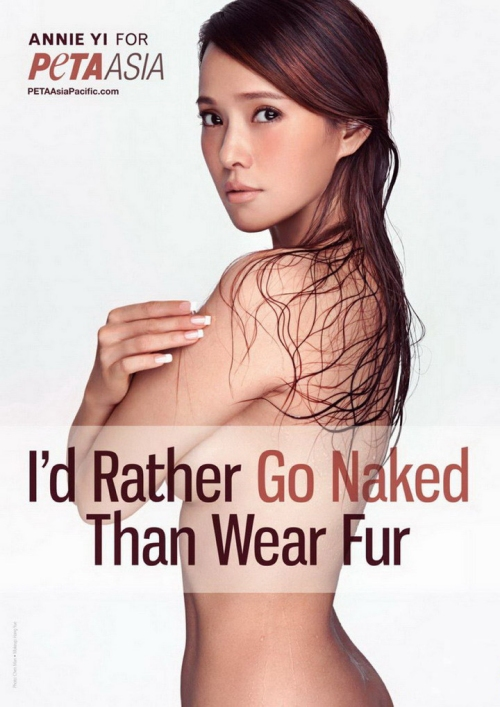 i rather be naked than wear fur